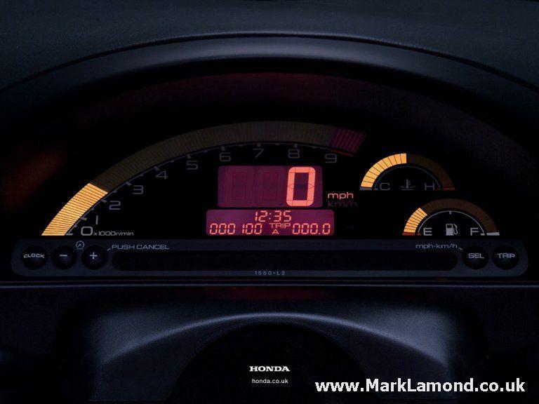 2002 Honda S2000 Gauge Cluster