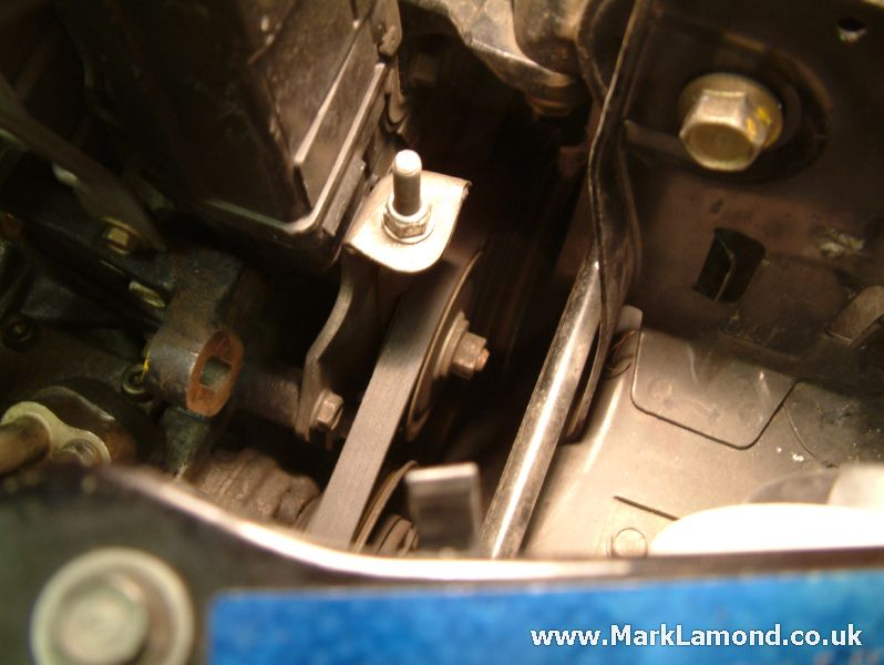 A/C Belt or Tensioner Replacement